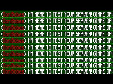 I GOT OP ON EVERY MINECRAFT SERVER! *NOT HACKS* (Minecraft Trolling)