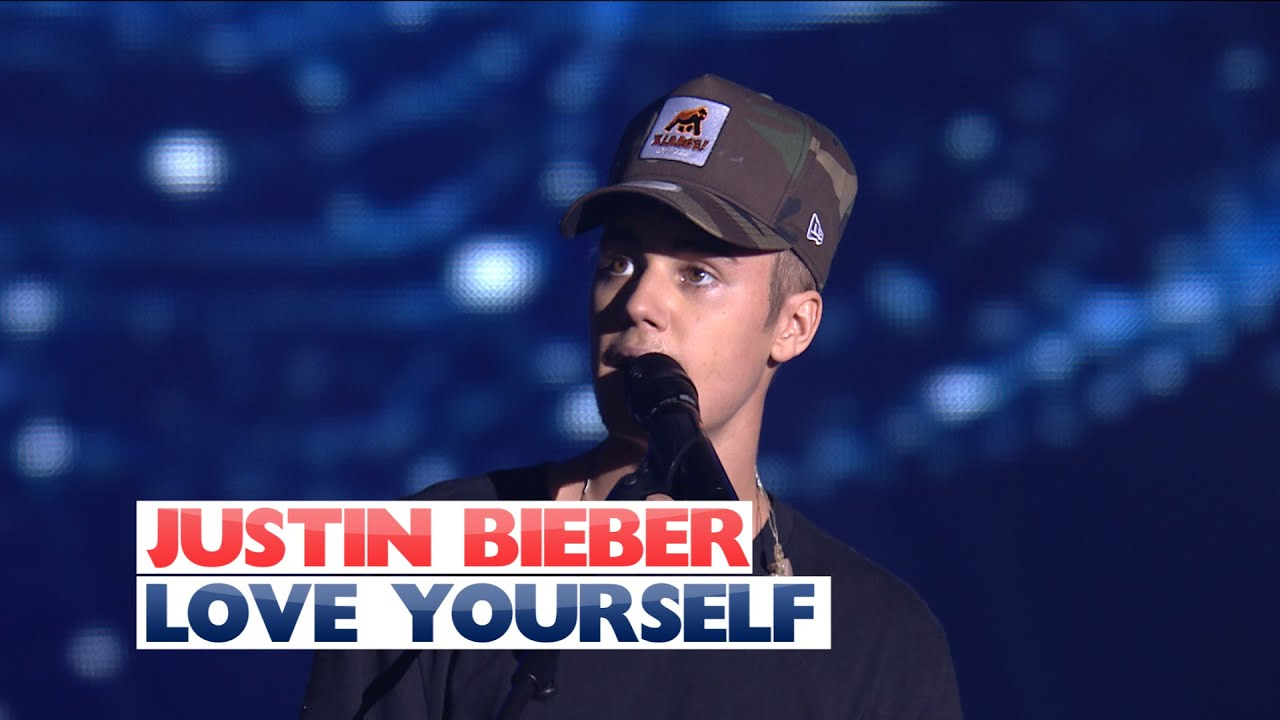 Justin Bieber - 'Love Yourself' (Live At Jingle Bell Ball 2015)