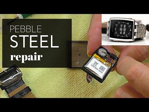 Pebble Watch restoration and repair.