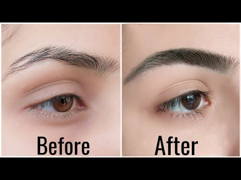 2 Easy Ways To GROW Thick EYEBROWS Naturally & 10x FAST | Anaysa