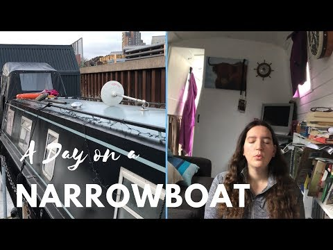 A Day on a Narrowboat in London
