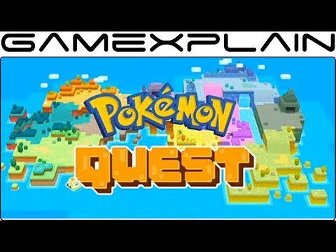 Pokémon Quest Revealed for Mobile & Nintendo Switch!