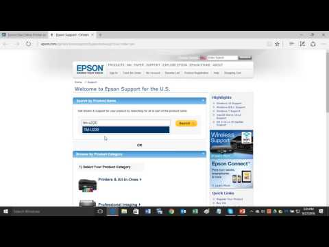 How to Find an Epson Receipt Printer Driver to Download & Install