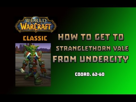 Where is Zeppelin Master to Stranglethorn Vale \ How to Get to Stranglethorn Vale from Undercity