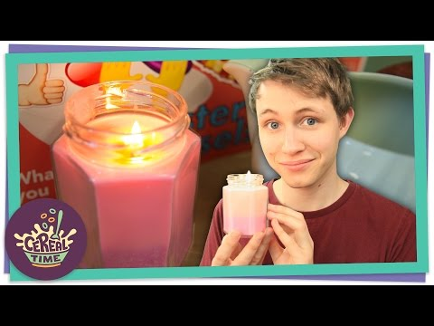 How-to Make A Scented Candle | Cereal Time