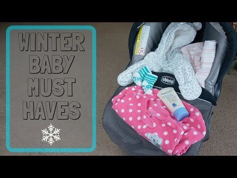 Winter Baby Must Haves // Momma Alia