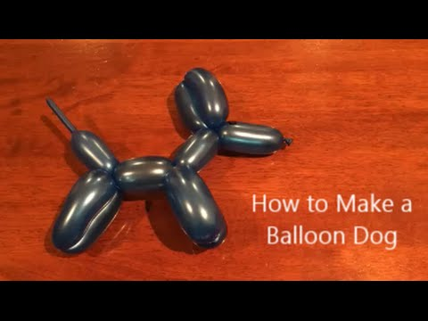 How to Make a Balloon Dog