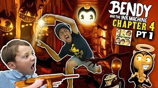 BENDY & THE INK MACHINE CHAPTER 4 Colossal Wonders: Carnival Creeps (FGTEEV Part 1)