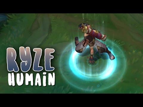 Ryze Humain (Refonte) Aperçu Skin League of Legends