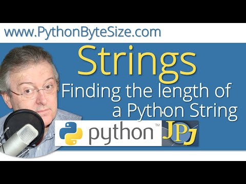 Finding the length of a Python String
