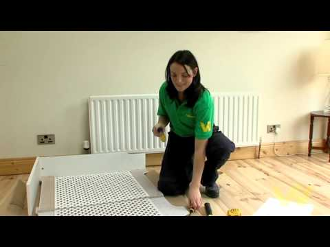 How to Install a Radiator Cabinet