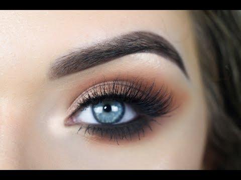 JACLYN HILL X MORPHE PALETTE   Warm Smokey Eye Makeup Tutorial