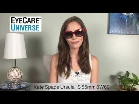 Kate Spade Ursula/S 55mm 0W60 Video Review