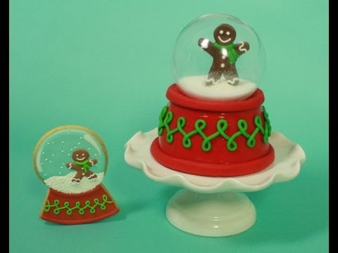 Snow globe CAKE (How-to)-collab with Amber Spiegel of Sweet Ambs Cookies