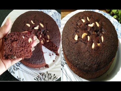 कुकर में बनाएं केक💕 Suji cake in cooker💕 Chocolate Cake recipe💕 Rava cake | Semolina cake