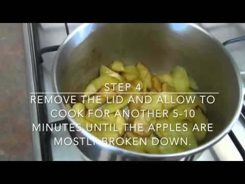 Stewed Apples | Leftover and Imperfect Apples
