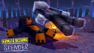 Minecraft HOW TO BECOME SLENDERMAN!!!