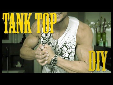 DIY Tank top /  Stringer - selbst machen  - Quick Tip #1