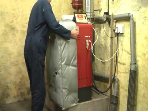 The Biomass Boiler Cosy For Wood Pellet, Chip, Log or Bale Boilers - PelHeat