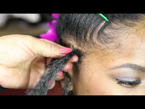 How to Do a Braid Starting From the Edge : Braids & Such