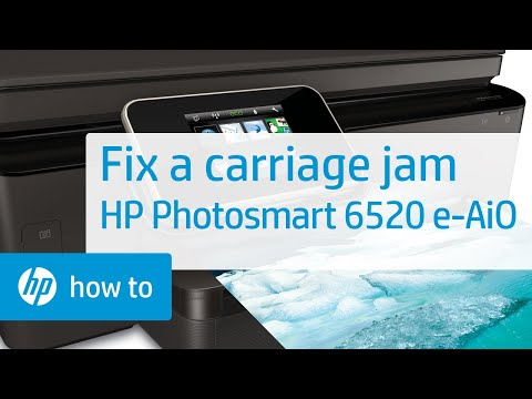 Fixing a Carriage Jam - HP Photosmart 6520 e-All-in-One Printer