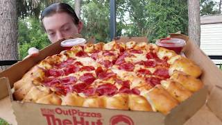 Reviewing My Favorite Pizza (Pizza Hut Cheesy Bites)