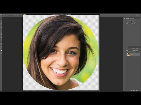 Crop Images in a Circle Shape with Photoshop | All Versions