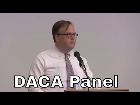 DACA Panel Discussion Sep 2017