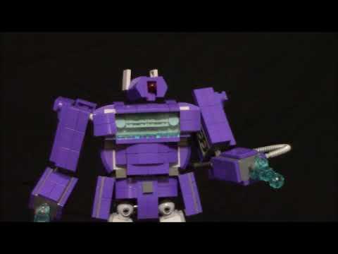 Lego Transformers G1 Shockwave by BWTMT Brickworks