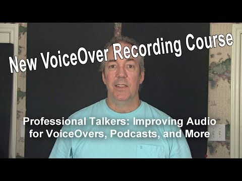 New VoiceOver Recording Course From Home Brew Audio