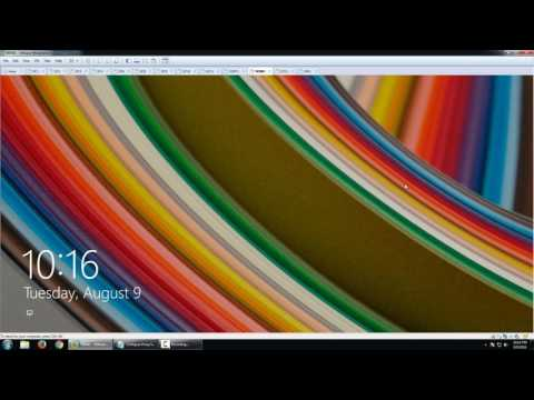 Configure Proxy Settings in Windows 8