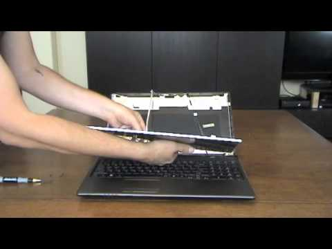 Laptop screen replacement / How to replace laptop screen Acer Aspire 5750