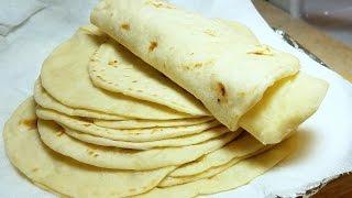 How to make Soft Flour Tortillas - Como Hacer Tortillas de Harina