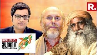 Sadhguru, Dr David Frawley & Arnab Goswami Discuss The Culture And Values That Power A Billion