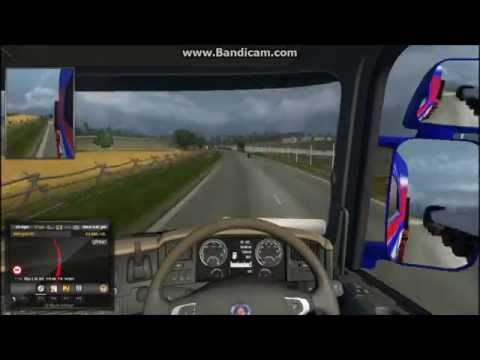ETS2 Southampton to Tours in 2 Minutes