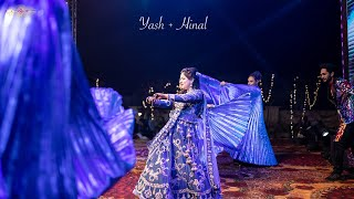 Bride's Surprise Dance For Parents and Groom! | #HiYaDaViaah