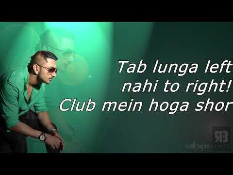 Blue Eyes Full Song Yo Yo Honey Singh - Blockbuster Song Of 2013 - Lyrics