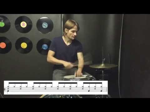 Learn Drums to Rude by Magic