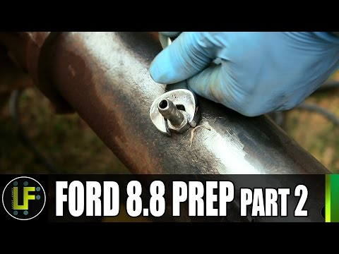 Rover 1 Project - Preparing the Ford 8.8 - Part 2