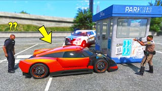 What if you STEAL A CAR during POLICE CRASH INVESTIGATION?! (GTA 5 Mods)