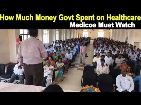 Dr. JP With Medicos,RIMS, How Much Money Govt Spent on Healthcare?,