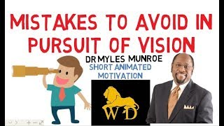 HOW TO RUN WITH YOUR VISION by Myles Munroe with Benny Hinn (Inspiring)