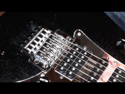 How to Adjust Intonation on a Floyd Rose - Guitar Repair Tutorial