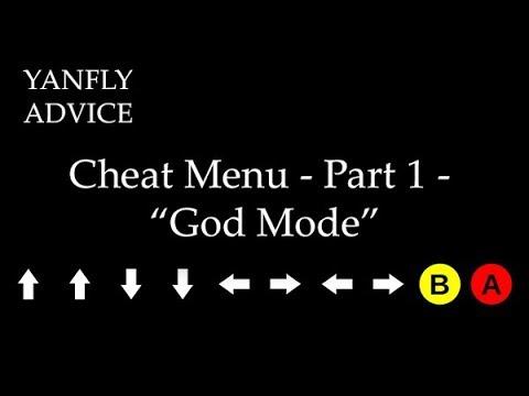 Cheat Menu - Part 1 -