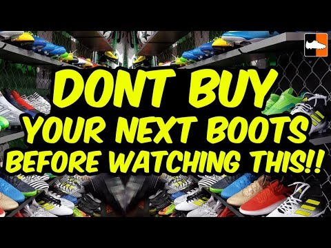 Don't Buy Football Boots Before Watching This Video!! Soccer Cleats To Avoid