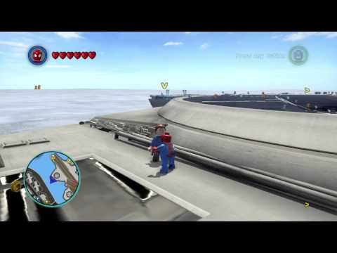 LEGO Marvel Super Heroes - Gold Brick mission - Hide and Seek on Carrier