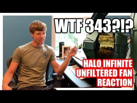 Halo Infinite Announcement Trailer unedited Fan Reaction - GARBAGE!