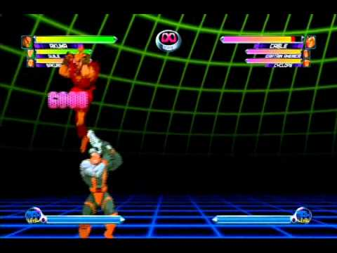 Marvel vs. Capcom 2 [PS3] - Testing Video Resolution