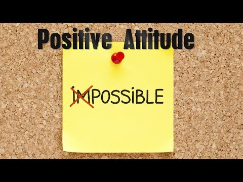 Positive Attitude Subliminal Audio and Visual Messages