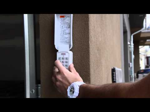 Sego Minute Maintenance - Reprogram Garage Door Keypad Code